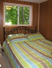 Buck Lake Cottage Rental #12-11~ Bedroom with Single Bed
