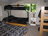 Buck Lake Cottage Rental #12-15 ~ Childrens Bedroom with 3 sets of Bunk Beds