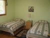 Buck Lake Cottage Rental #3-10 ~ Bedroom upstairs with 2 singles