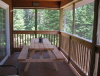 Buck Lake Cottage Rental #3-25 Screened Muskoka Room
