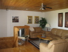 Buck Lake Cottage Rental #3-7 ~Living Room