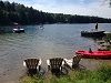 silver lake cottage rental 38~Sandy beach area at silver lake