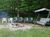 silver lake cottage rental 38~Deer on property beside cottage