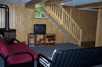 three mile lake cottage rental 22 ~ Rec Room