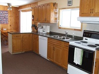 three mile lake cottage rental 22~Kitchen/Dining