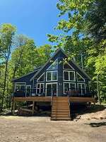 three mile lake cottage rental 8~Cottage Exterior, Lake Side